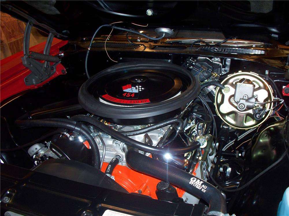 1970 CHEVROLET CHEVELLE SS CONVERTIBLE - Engine - 137777