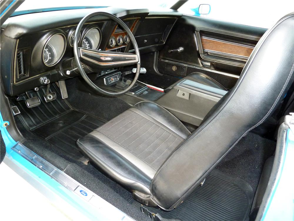 1971 FORD MUSTANG MACH 1 FASTBACK - Interior - 137783