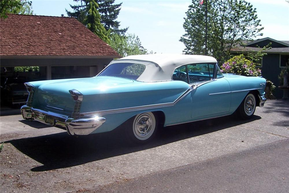1957 OLDSMOBILE 98 CONVERTIBLE - Rear 3/4 - 137787