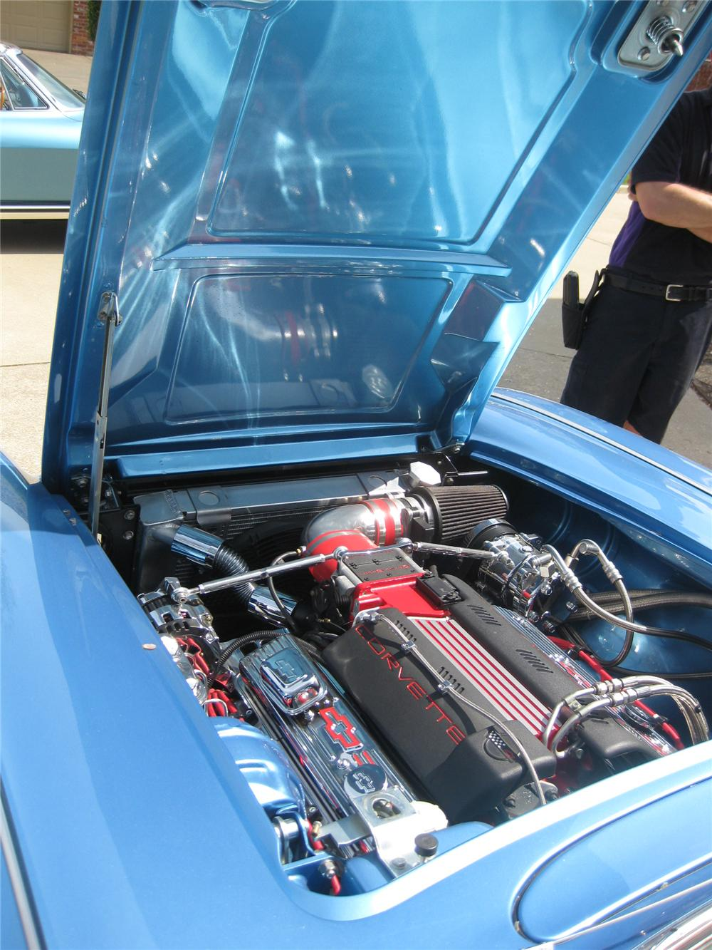 1959 CHEVROLET CORVETTE CUSTOM CONVERTIBLE - Engine - 137789