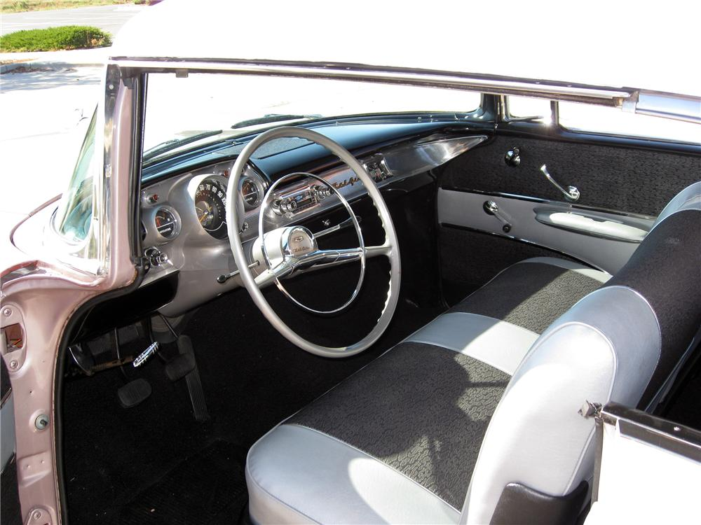 1957 CHEVROLET BEL AIR 2 DOOR HARDTOP - Interior - 137792