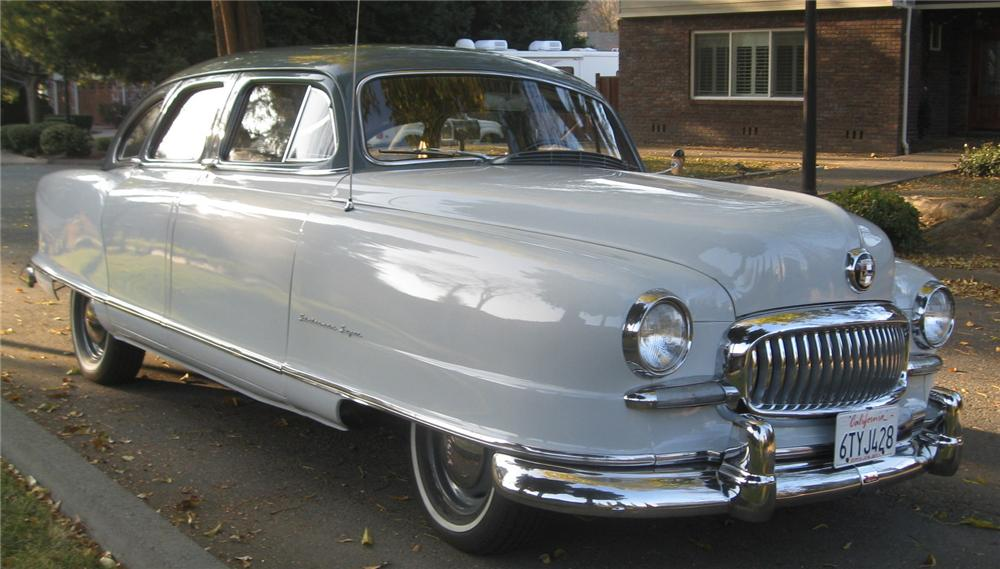 1951 NASH STATESMAN 4 DOOR SEDAN - Front 3/4 - 137795