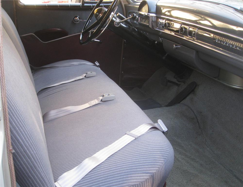 1951 NASH STATESMAN 4 DOOR SEDAN - Interior - 137795