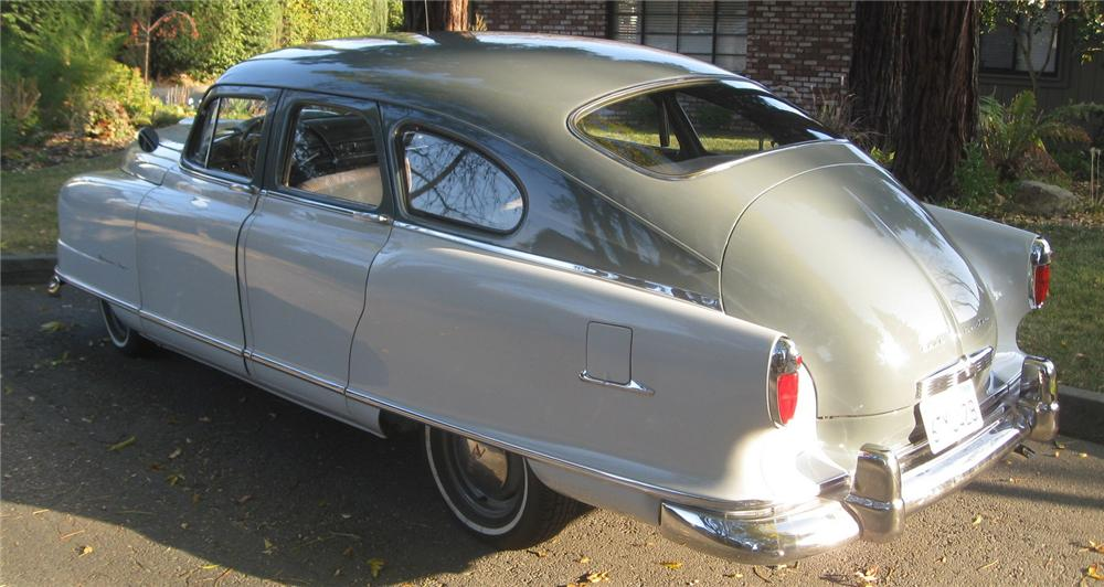 1951 NASH STATESMAN 4 DOOR SEDAN - Rear 3/4 - 137795