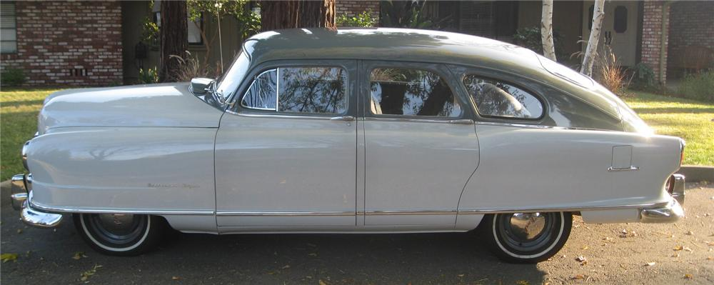 1951 NASH STATESMAN 4 DOOR SEDAN - Side Profile - 137795