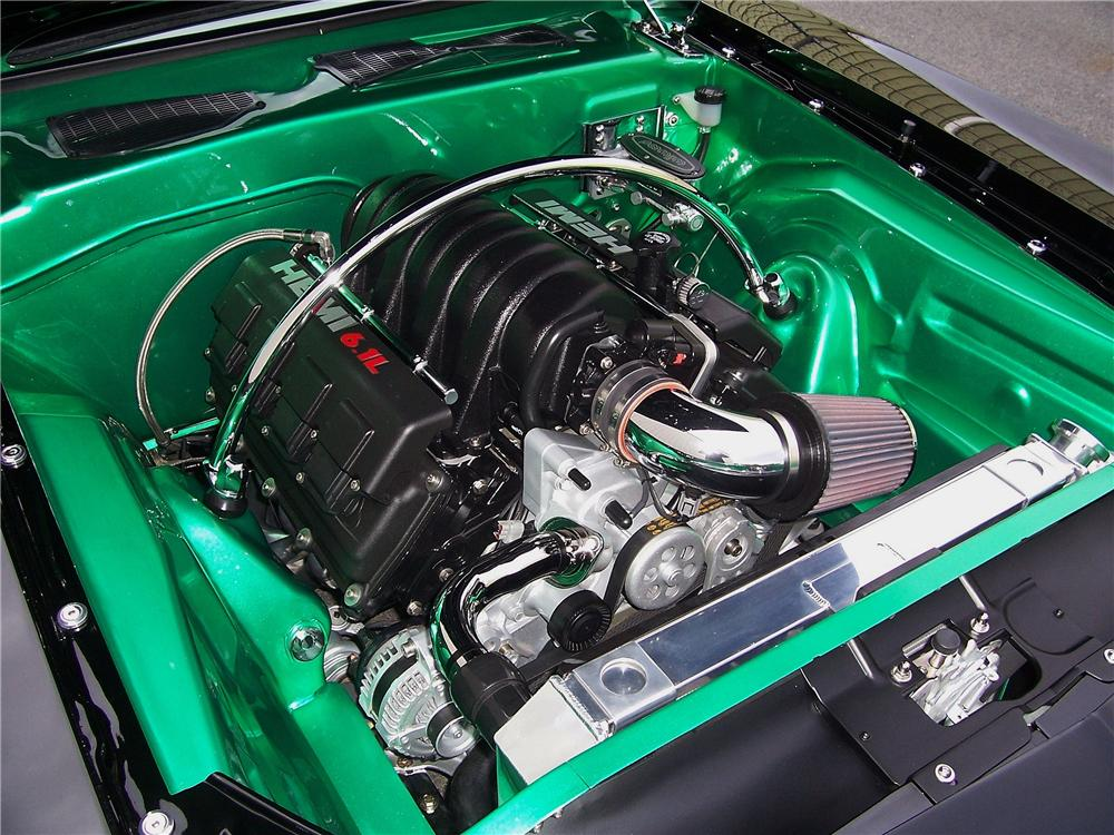 1970 PLYMOUTH CUDA CUSTOM COUPE - Engine - 137798