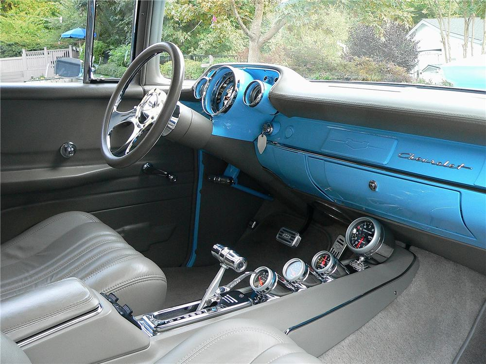 1957 CHEVROLET 210 DEL RAY CUSTOM 2 DOOR SEDAN - Interior - 137799