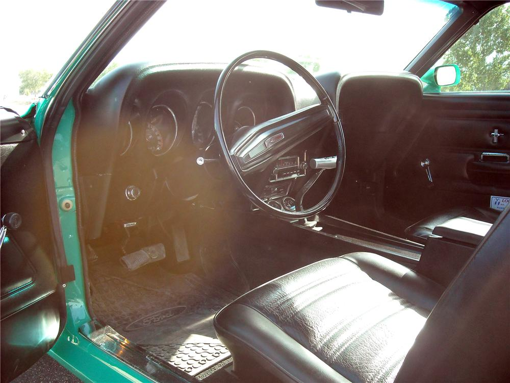 1970 FORD MUSTANG BOSS 302 FASTBACK - Interior - 137801