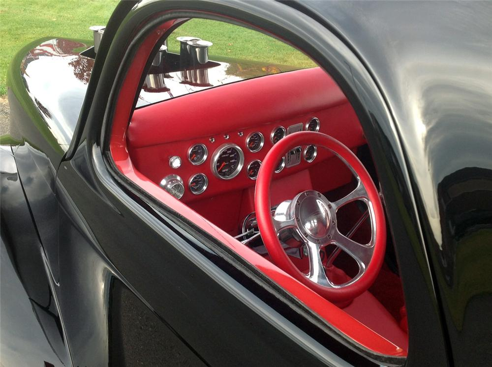 1941 WILLYS CUSTOM COUPE - Interior - 137807