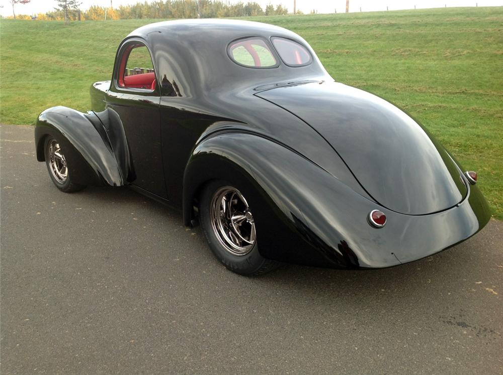 1941 WILLYS CUSTOM COUPE - Rear 3/4 - 137807