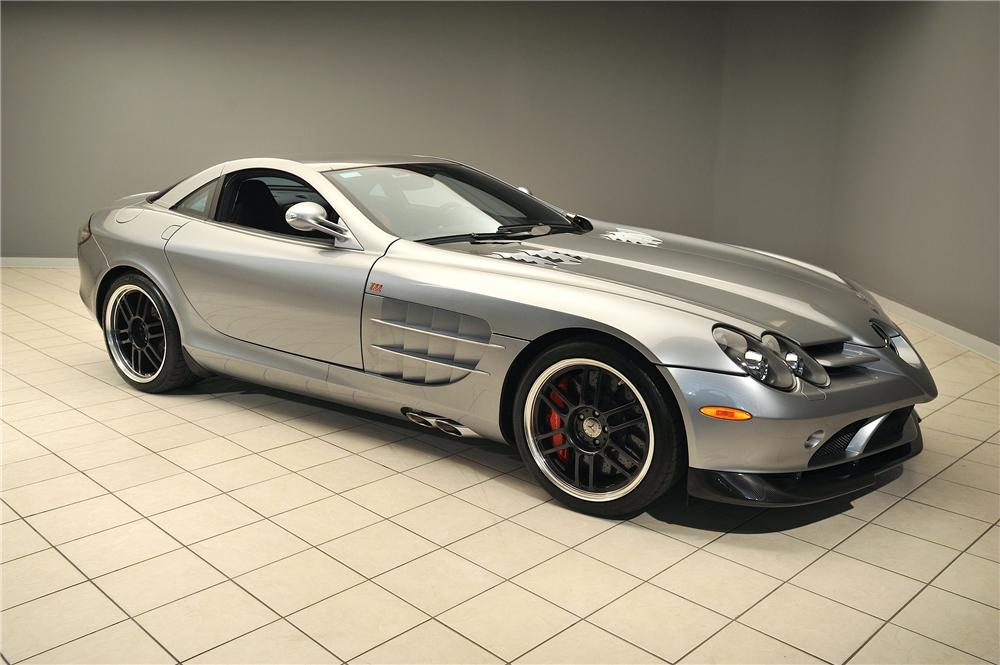2007 Mercedes Benz Slr Mclaren 2 Door Coupe 137812