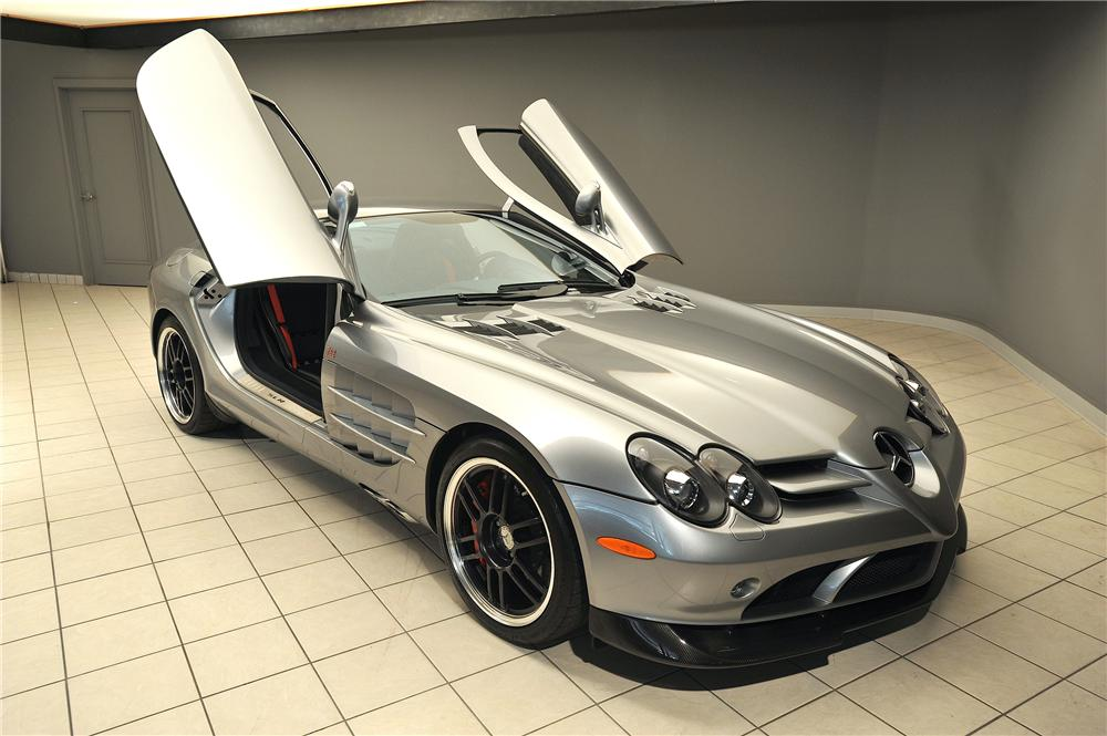 ... 2007 MERCEDES BENZ SLR MCLAREN 2 DOOR COUPE   Side Profile   137812