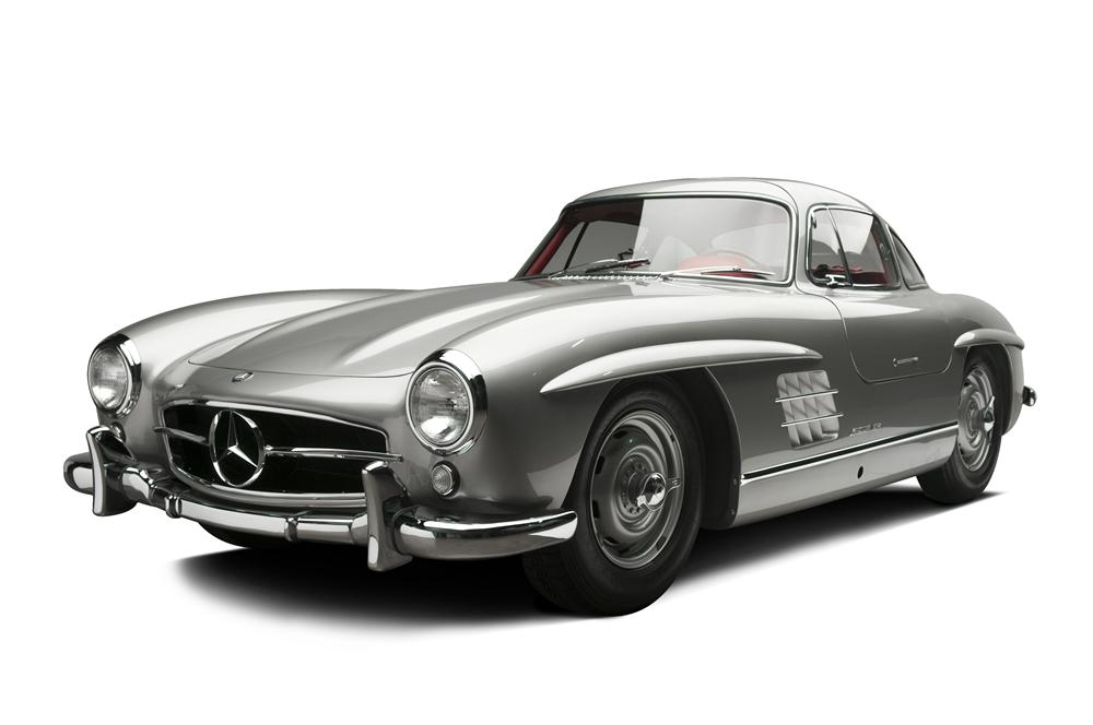 1955 MERCEDES-BENZ 300SL GULLWING COUPE - Front 3/4 - 137813