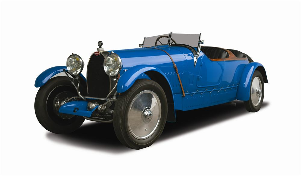 1927 BUGATTI TYPE 38 FOUR SEAT OPEN TOURER - Front 3/4 - 137815
