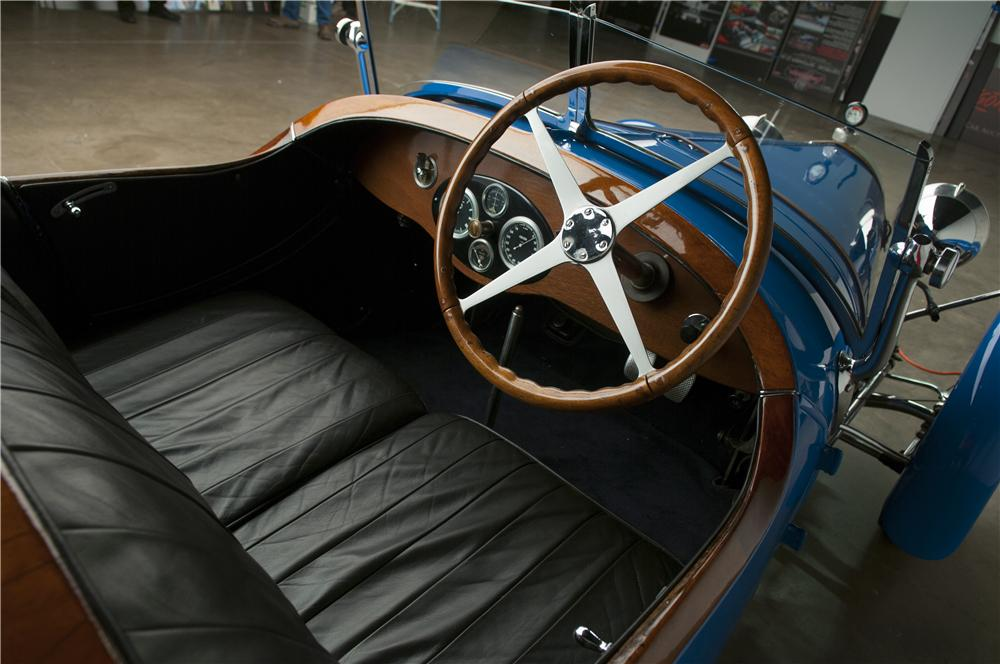 1927 BUGATTI TYPE 38 FOUR SEAT OPEN TOURER - Interior - 137815