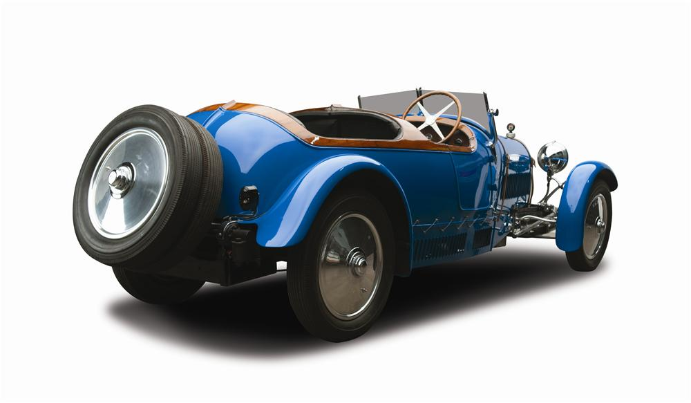 1927 BUGATTI TYPE 38 FOUR SEAT OPEN TOURER - Rear 3/4 - 137815