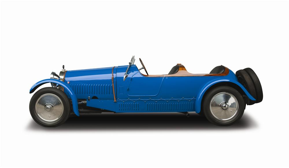 1927 BUGATTI TYPE 38 FOUR SEAT OPEN TOURER - Side Profile - 137815