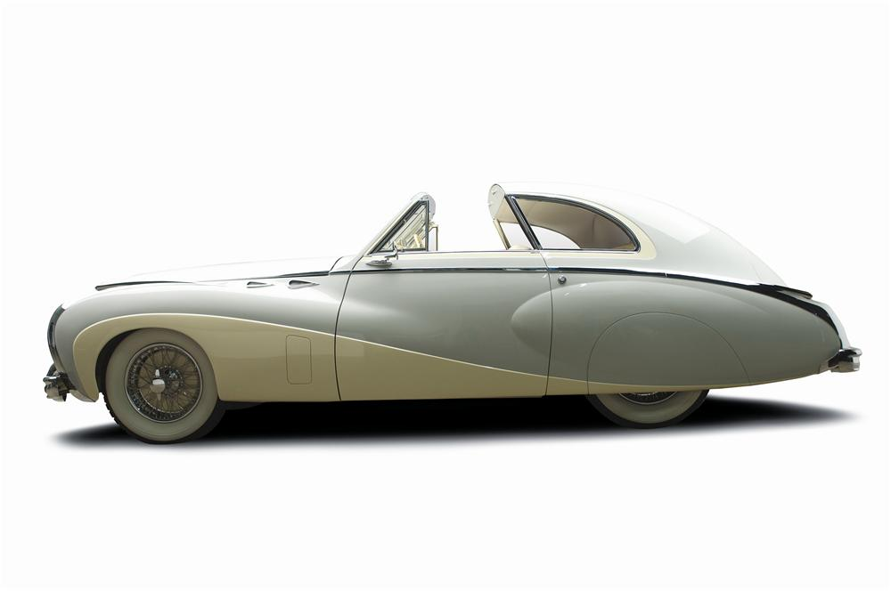 1949 DELAHAYE TYPE 175 SAOUTCHIK COUPE DE VILLE - Side Profile - 137817
