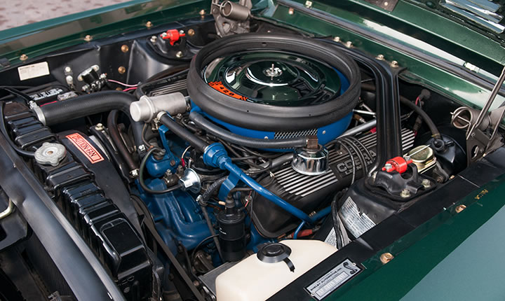 "1968 SHELBY EXP 500 ""THE GREEN HORNET"" - Engine - 137819"