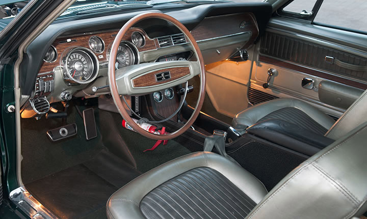 "1968 SHELBY EXP 500 ""THE GREEN HORNET"" - Interior - 137819"