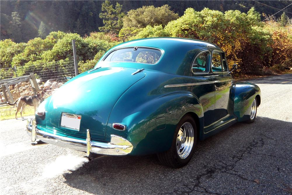 1941 chevrolet custom 2 door coupe 137822 for 1941 chevy 4 door sedan