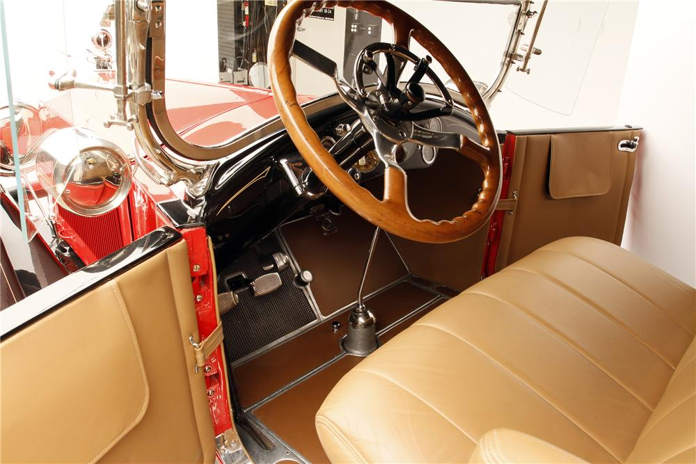 1920 PACKARD TWIN 6 ROADSTER - Interior - 137824