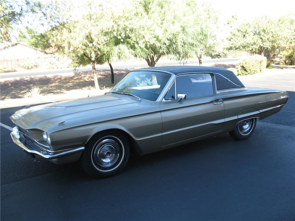 1966 FORD THUNDERBIRD 2 DOOR HARDTOP - Front 3/4 - 137832