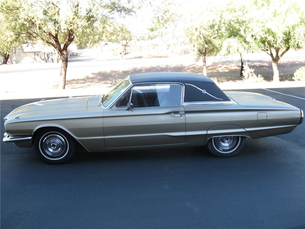 1966 FORD THUNDERBIRD 2 DOOR HARDTOP - Side Profile - 137832