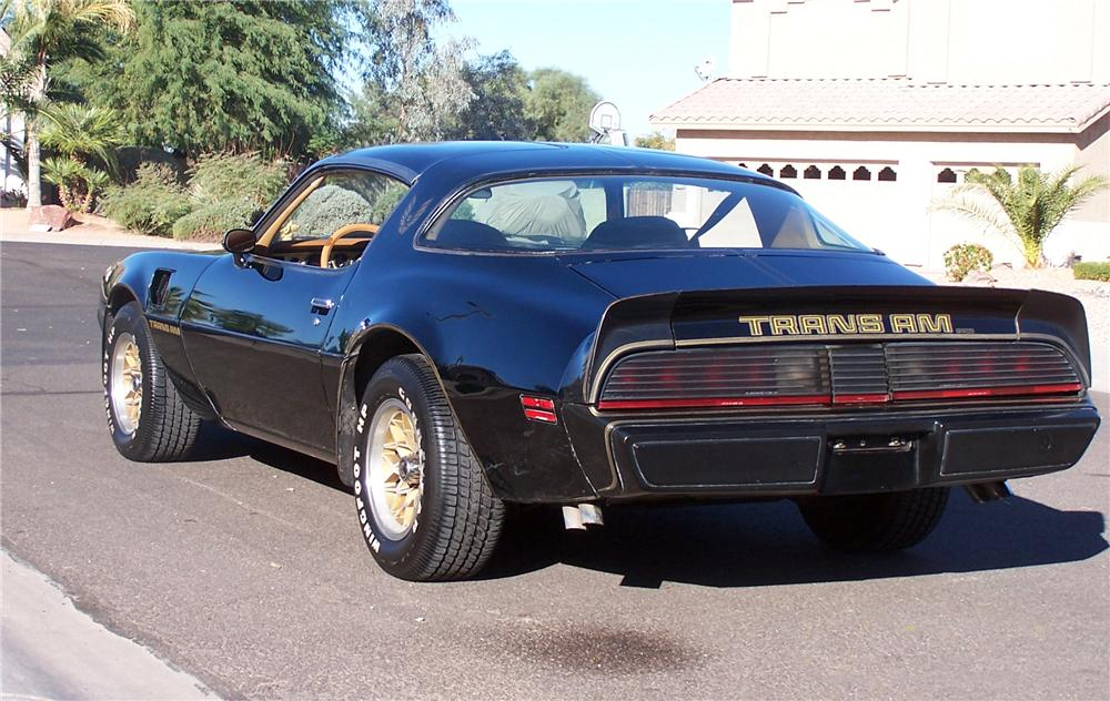 1979 PONTIAC TRANS AM COUPE - Rear 3/4 - 137835