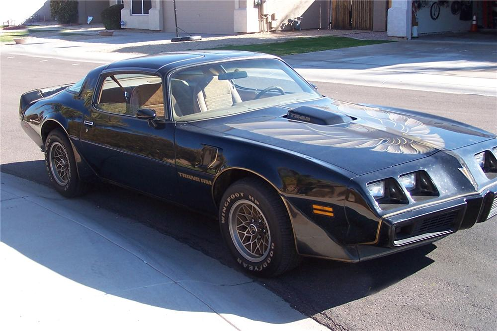 1979 PONTIAC TRANS AM COUPE - Side Profile - 137835