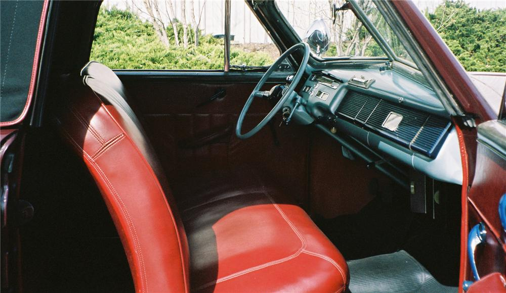1940 MERCURY CONVERTIBLE - Interior - 137837
