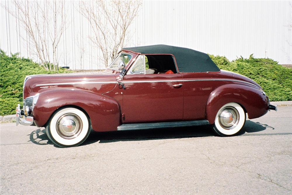 1940 MERCURY CONVERTIBLE - Side Profile - 137837