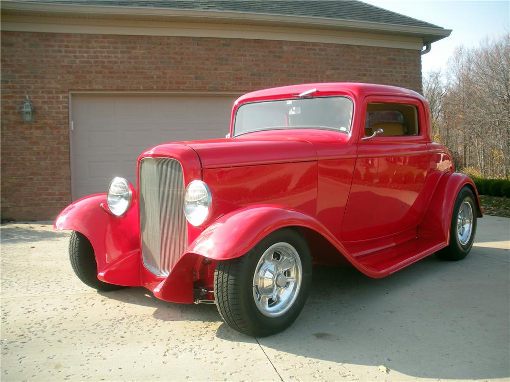 1932 ford deluxe 3 window coupe 137838 for 1932 3 window ford