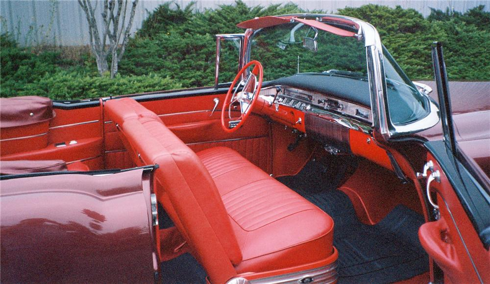 1956 BUICK SUPER 56-C CONVERTIBLE - Interior - 137841