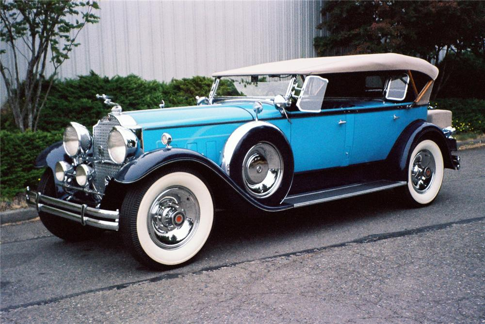 1930 Packard Custom Eight Dual Cowl Sport Phaeton 137844