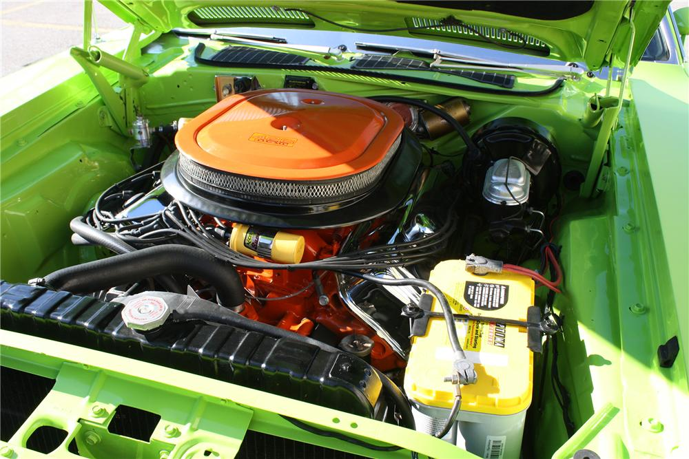 1970 PLYMOUTH BARRACUDA HEMI CUDA RE-CREATION - Engine - 137848