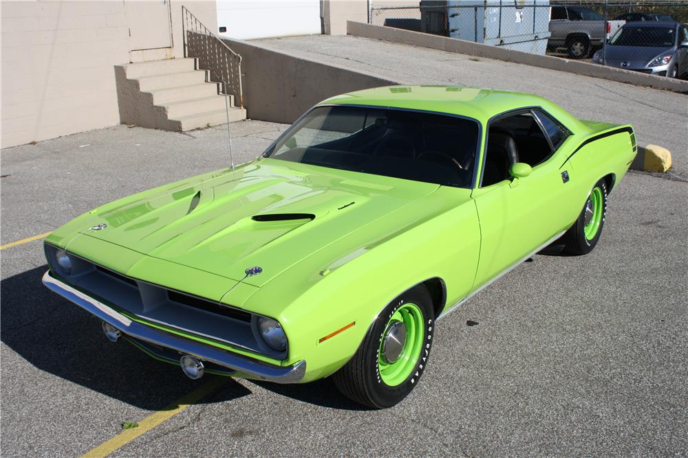 1970 PLYMOUTH BARRACUDA HEMI CUDA RE-CREATION - Front 3/4 - 137848