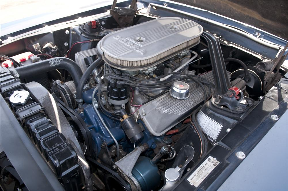 1967 SHELBY GT500 FASTBACK - Engine - 137857