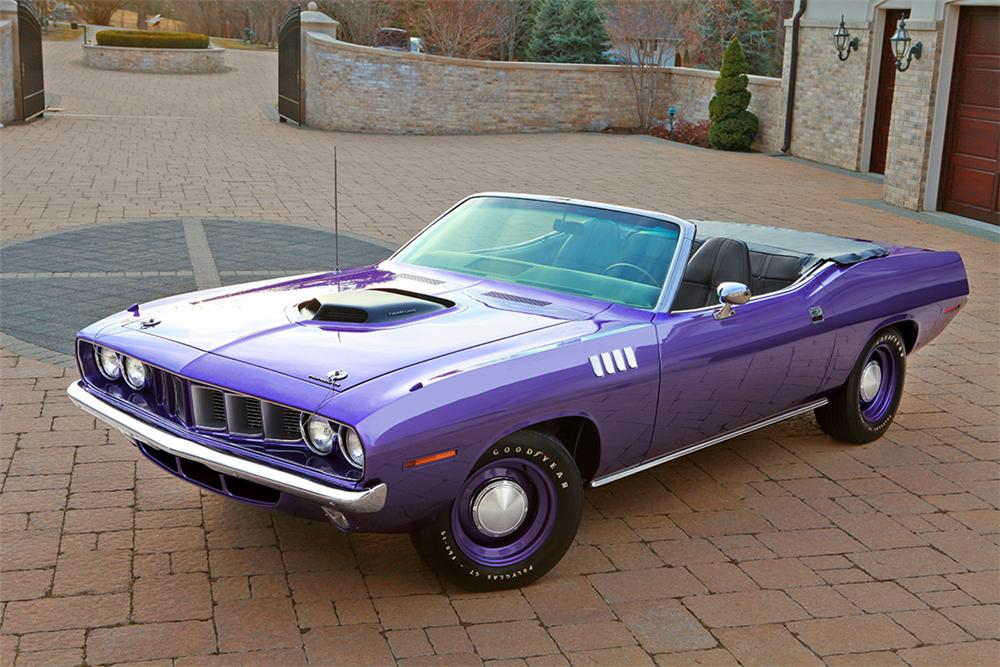 1971 plymouth hemi cuda convertible 137858. Black Bedroom Furniture Sets. Home Design Ideas