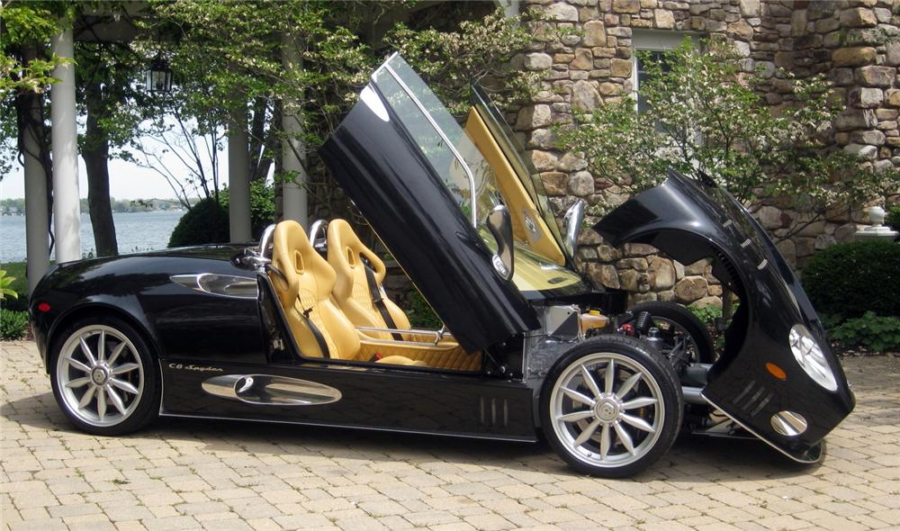 2009 SPYKER C8 SPYDER  - Side Profile - 137861