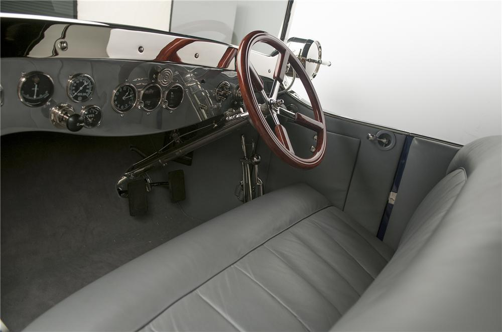 1919 PIERCE-ARROW 66 A-4 TOURER-FATTY ARBUCKLES - Interior - 137862
