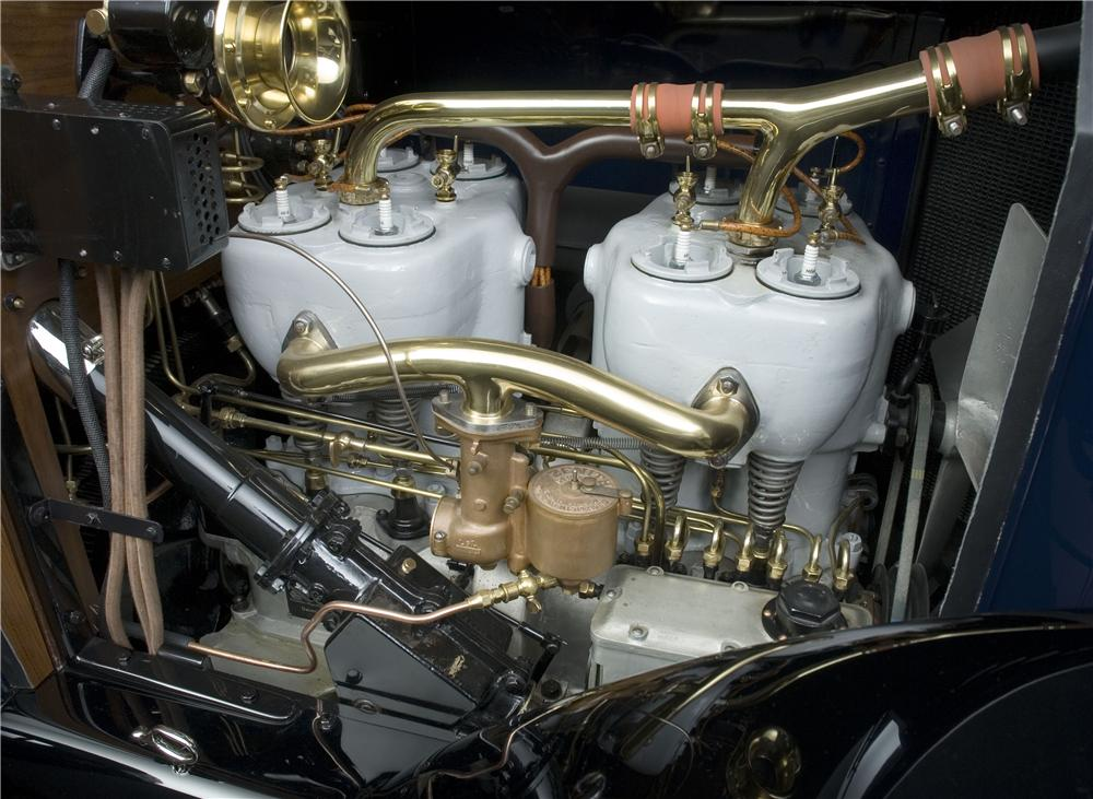 1914 MERCEDES OPEN FRONT TOWN CAR - Engine - 137863