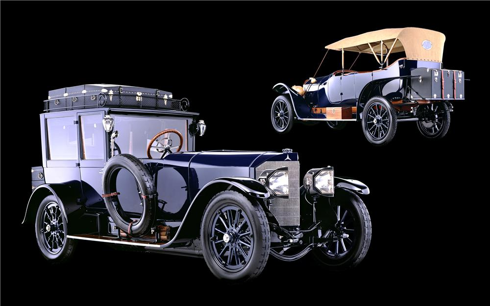 1914 MERCEDES OPEN FRONT TOWN CAR - Front 3/4 - 137863