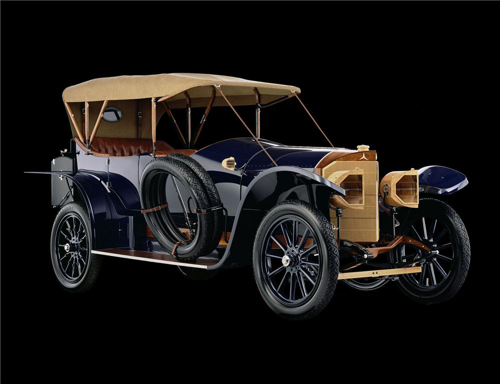 1914 MERCEDES OPEN FRONT TOWN CAR - Rear 3/4 - 137863