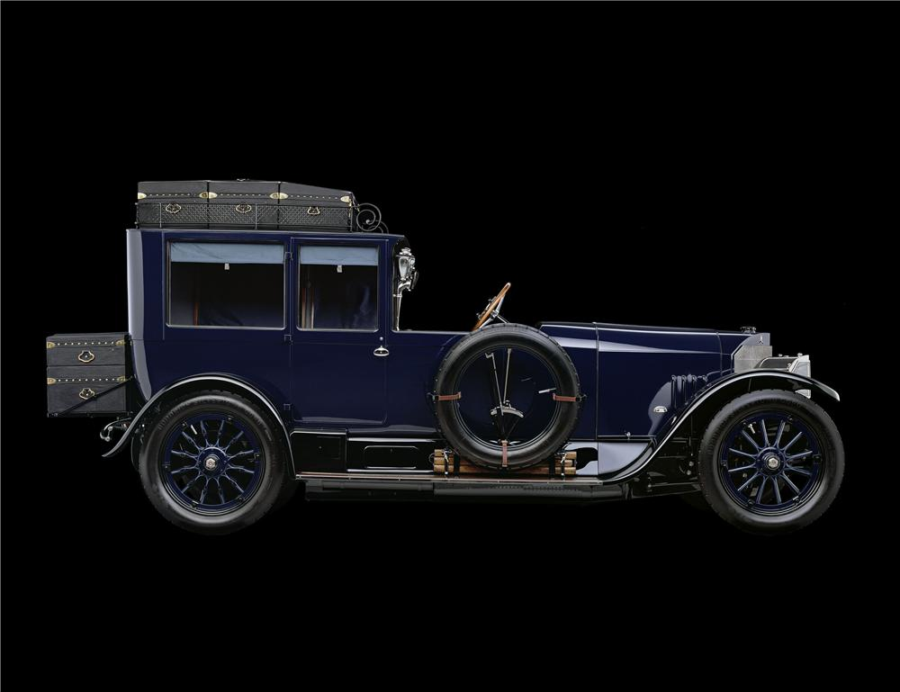 1914 MERCEDES OPEN FRONT TOWN CAR - Side Profile - 137863