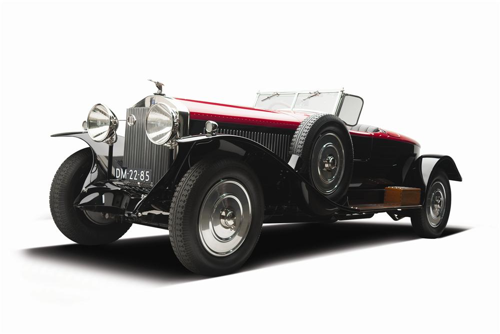 1925 ISOTTA FRASCHINI TIPO 8A S ROADSTER - Front 3/4 - 137870