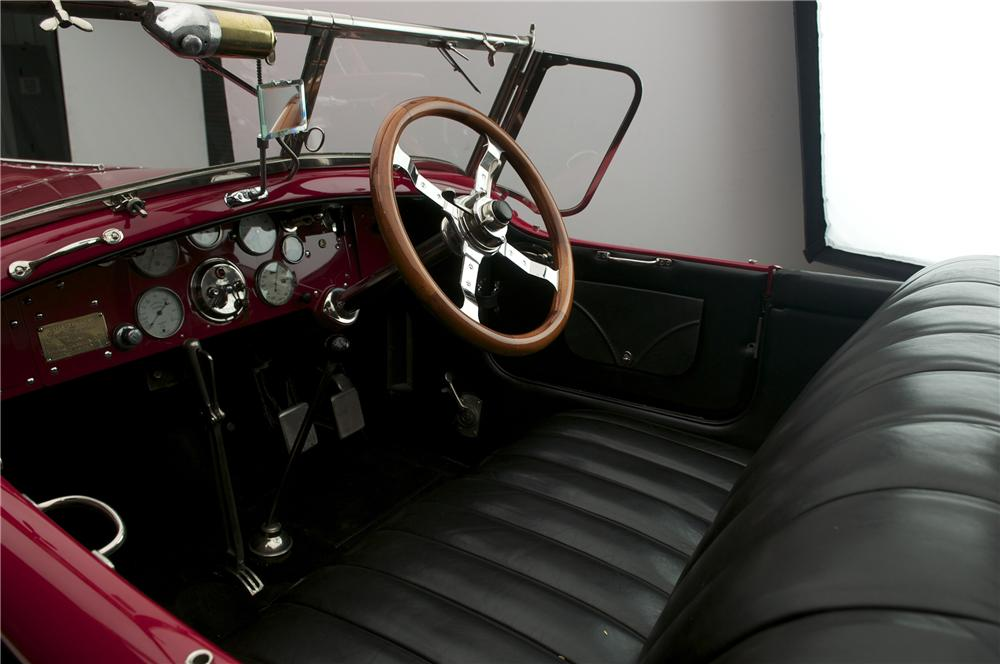 1925 ISOTTA FRASCHINI TIPO 8A S ROADSTER - Interior - 137870