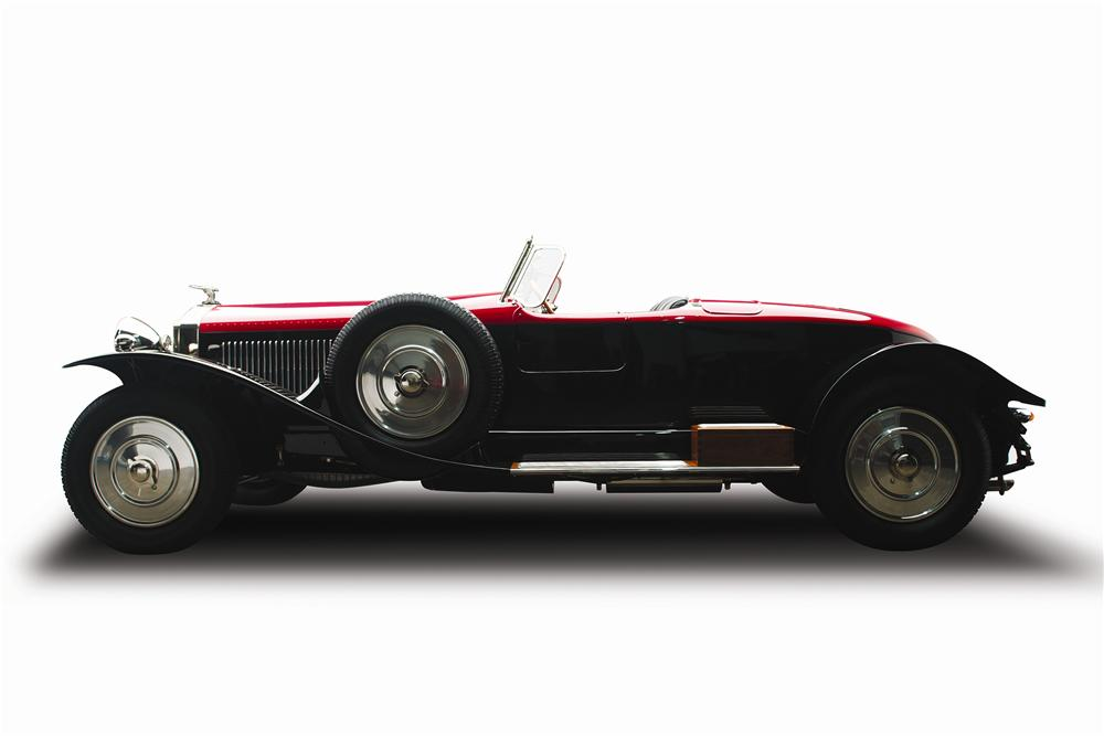 1925 ISOTTA FRASCHINI TIPO 8A S ROADSTER - Side Profile - 137870