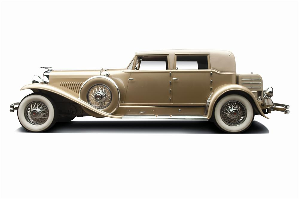 1934 DUESENBERG J MURPHY LWB CUSTOM BEVERLY SEDAN - Side Profile - 137872