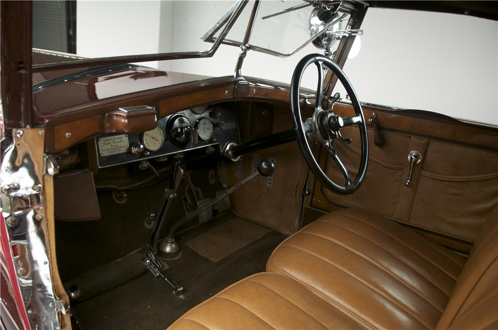 1929 ISOTTA FRASCHINI TIPO 8A SS CASTAGNA ROADSTER - Interior - 137877